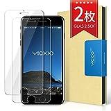 【2枚セット】VICXXO iPhone 6/iPhone 6s 保護フィルム 硬度9Hガラスフィルム/気泡レス/耐衝撃/防指紋/光沢/飛散防止処理 アイフォン6/アイフォン6s 強化ガラス液晶保護フィルム
