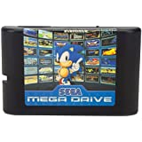 820 in 1 ゲームカード ゲームソフト ゲームカセット ゲームカートリッジ 内蔵820ゲーム クラシック 人気 ゲームFor Sega Mega Drive Genesis