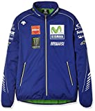 ヤマハ(YAMAHA) ソフトシェルジャケット MotoGP ヤマハファクトリーレーシング オフィシャルチームウェア デサント ブルー Lサイズ Q5D-YSK-278-00L