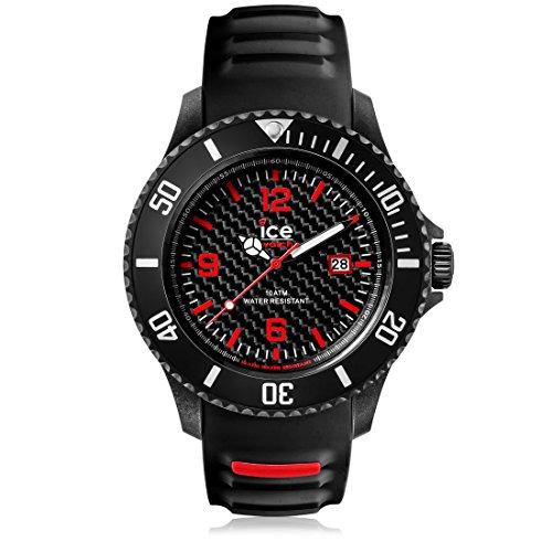 アイスウォッチ 腕時計 アイスカーボン ビッグ CA3HBKBS15 ブラックホワイト CA.3H.BK.B.S.15