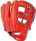 adidas(アディダス) 野球 硬式 グラブ アディダスプロフェッショナル 二塁手用 ボールドオレンジ×ソーラーゴールド×ゴールドメット BID43