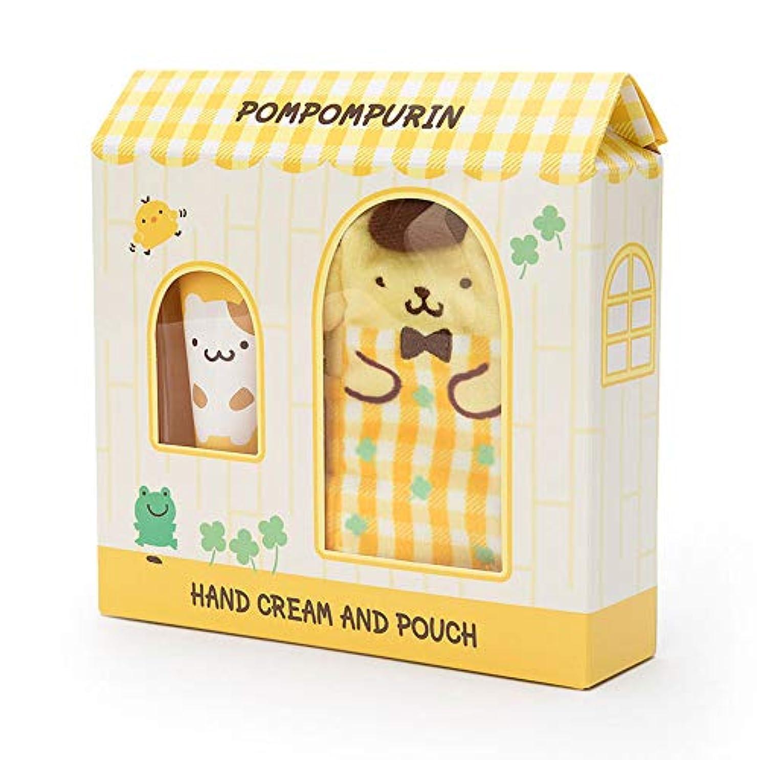 打ち上げる解説冷酷なポムポムプリン プチポーチ付きハンドクリーム