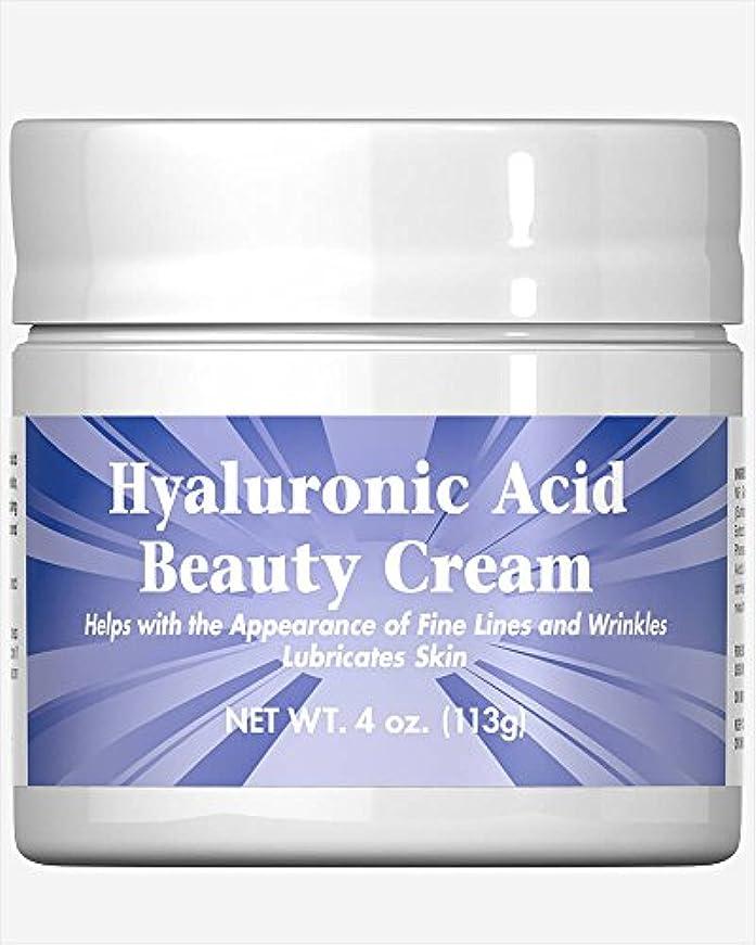 レイ近く連続したピュリタン自慢のヒアルロン酸美容クリーム4オンスクリーム1パック Puritan's Hyaluronic Acid Beauty Cream 4 oz Cream 1 Pack