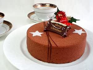 【2009年クリスマスケーキ・ショコラ・テ ムッシュオオタニ】12月中旬以降発送・チョコレートとアールグレイの香りがベストマッチ♪女性に人気No.1神戸お取り寄せスイーツ クリスマスケーキ