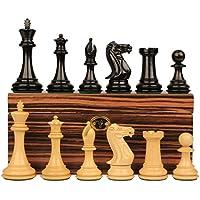 新しいExclusive Stauntonチェスセットin Ebonized Boxwood with Macassarボックス – 3