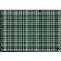 カッティングマット・CM-9011・再生PVC・900×620×3mm・黒/黒