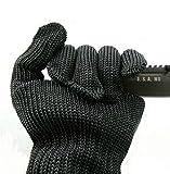 RISACCA 防刃 手袋 スリーブ カッター ナイフ 包丁 刃物 から身を守る 高性能 危険作業 防犯 サバイバル グッズ 収納袋付 (手袋 )