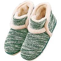GaraTia Winter Vintage Boot Slippers Arctic Solid Indoor Green 6 B(M) US