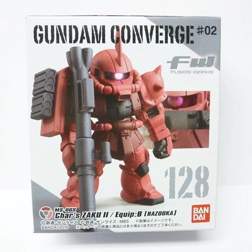 FW GUNDAM CONVERGE ♯2 (ガンダム コンバージ ♯2) [128.オリジン版シャア専用ザクII(B装備:ザクバズーカ)](単品)