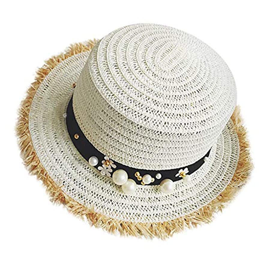 平等の間に出します帽子 レディース UVカット 帽子 麦わら帽子 UV帽子 紫外線対策 通気性 漁師の帽子 ニット帽 マニュアル 真珠 太陽 キャップ 余暇 休暇 キャップ レディース ハンチング帽 大きいサイズ 発送 ROSE ROMAN