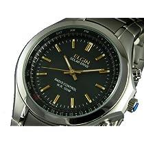 【ELGIN エルジン】時刻合せと電池交換不要のソーラー電波腕時計 FK1291S-BP