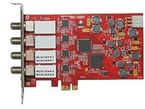 PLEX クアッドサテライトTVチューナー PXーTBS6985