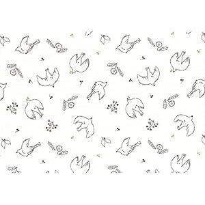 LECIEN(ルシアン) ダブルガーゼプリント 60cmカット 57783-6 4080310