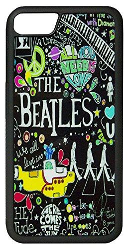 【The Beatles】ザ・ビートルズ タイトルイラスト iPhone7/ iPhone8 ハードカバー [並行輸入品]