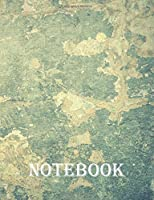 NOTEBOOK: Wide Ruled Composition Notebook - (7.44 x 9.69 inches)  200 Pages