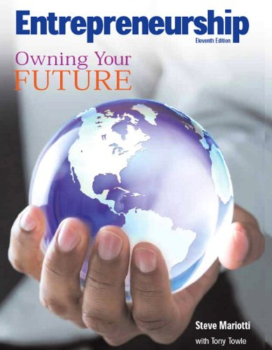 Download Entrepreneurship: Owning Your Future (High School Textbook) 0135128447