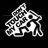 ヘラフラ スタンス ステッカー 1枚 DON'T TOUCH MY CAR ドントタッチ JDM usdm 送料無料