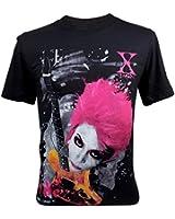 (イモータル)Immortal メンズ Hide X-Japan Rock Tシャツ V3 ブラック