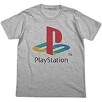 """プレイステーション 初代""""PlayStation"""" Tシャツ ヘザーグレー Mサイズ"""
