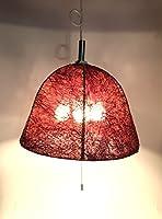 『アバカステッチ 3灯ペンダントランプ』E-26 60W×3 シーリングライト●●天井照明 照明器具 3灯 ペンダントライト ペンダントランプ ライト 間接照明 アジアン ランプ 照明●●