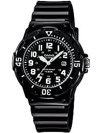 [カシオ]CASIO 腕時計 スタンダード アナログ表示 10気圧防水 ブラック X ブラック 国内メーカー保証付き レディース LRW-200H-1BJF