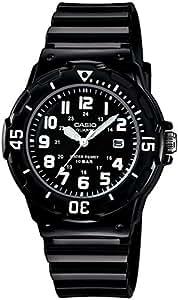 [カシオ]CASIO 腕時計 スタンダード アナログ表示 10気圧防水 ブラック X ブラック 国内メーカー保証付き LRW-200H-1BJF