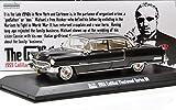 "GREENLIGHT 1:43SCALE HOLLYWOOD ""THE GODFATHER"" ""1955 CADILLAC FLEETWOOD SERIES 60""(BLACK) グリーンライト 1:43スケール ハリウッド 「ゴッドファーザー」「1955 キャデラック フリートウッド シリーズ 60」(ブラック) [並行輸入品]"