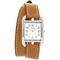 [エルメス] 腕時計 レディース HERMES CC1.210.220/VBA1 040233WW00 ブラウン シルバー ホワイト [並行輸入品]