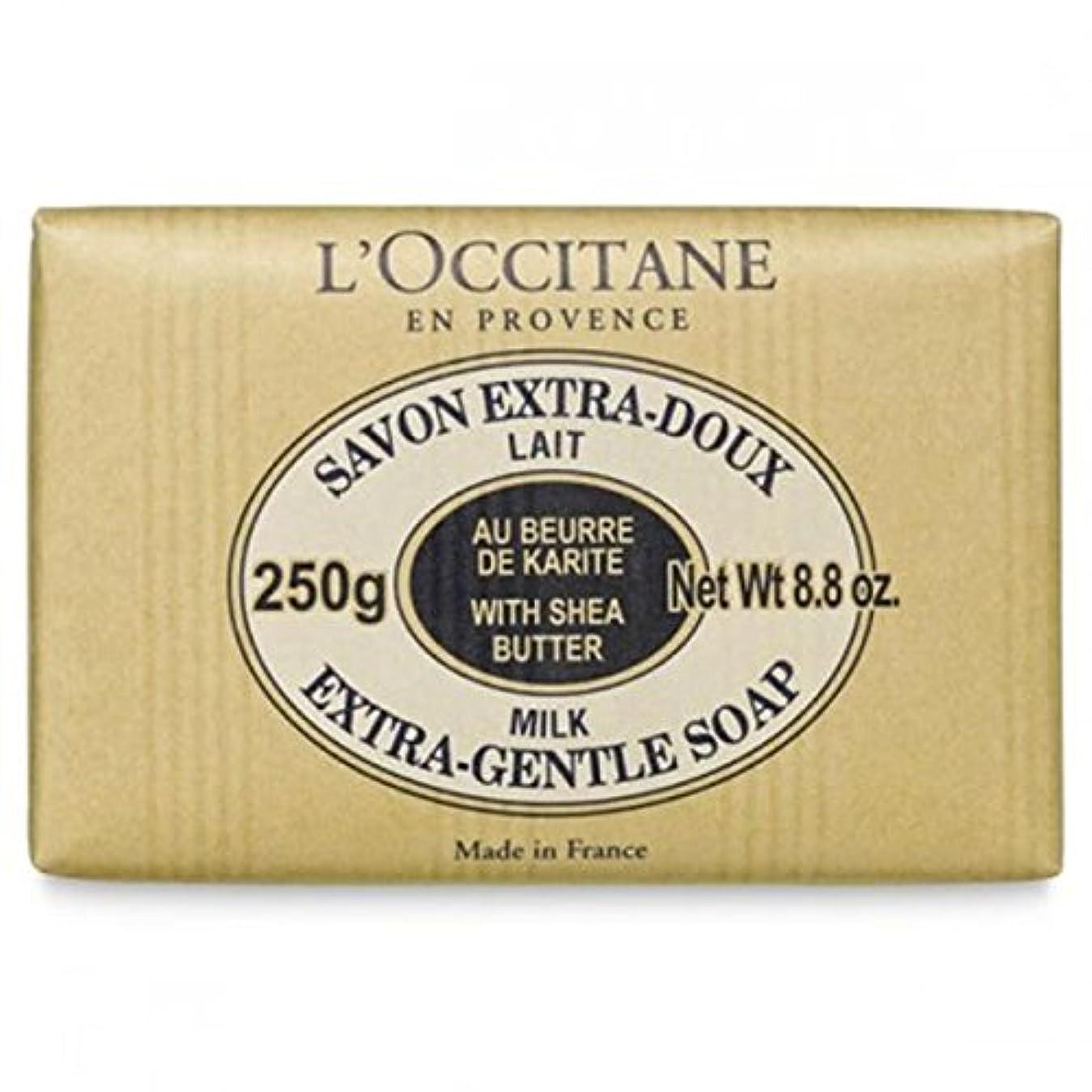 寄稿者ドロップロビーロクシタン[L'OCCITANE]シア ソープ ミルク 250g [並行輸入品]