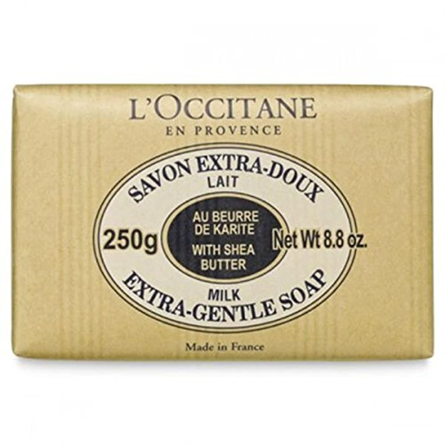 分析するごめんなさいレンダーロクシタン[L'OCCITANE]シア ソープ ミルク 250g [並行輸入品]