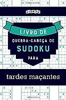 Livro de quebra-cabeças de Sudoku para tardes maçantes