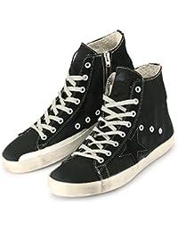 【ゴールデングース】 GOLDEN GOOSE Sneakers FRANCY GCOMS591.A1 スニーカー フランシー ブラック ハイカット ヴィンテージ 【並行輸入品】