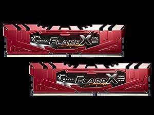 G.Skill F4-2400C15D-16GFXR (DDR4-2400 CL15 8GB×2) AMD Ryzen用メモリ