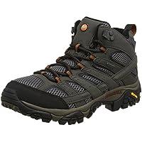 Merrell MOAB 2 MID GORE-TEX Men's Hiking Boots, Grey, AU8.5