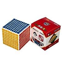 Shengshou 9X9X9 Body Twist Speed Magic Cube Hot Birth Holliday Seller White [並行輸入品]