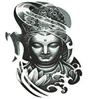 (ファンタジー) THE FANTASY タトゥーシール 仏さま 菩薩 如来 Buddha-4【大型・A4】 (wqa31)