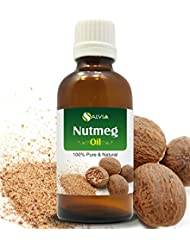 NUTMEG OIL 100% NATURAL PURE UNDILUTED UNCUT ESSENTIAL OILS 15ML