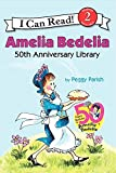 Amelia Bedelia 50th Anniversary Library: Amelia Bedelia, Amelia Bedelia and the Surprise Shower, and Play Ball, Amelia Bedelia (I Can Read Level 2)