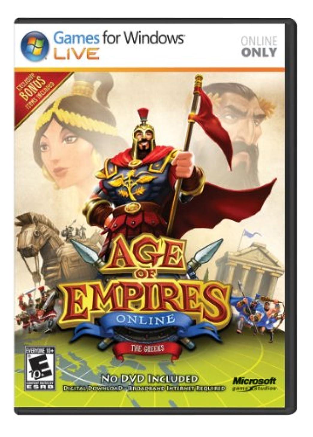 貝殻詳細な打倒Age of Empires Online: The Greeks Win32 English NA Medialess (輸入版)