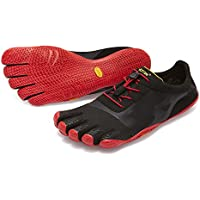 [vibram fivefingers ファイブフィンガーズ] Men's KSO EVO メンズ 18m0701 Black/Red