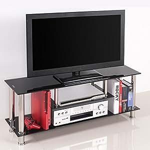 (OSJ)テレビ台 テレビボード TVラック 32インチ対応 ゲーム本体収納可(メタルタイプ BR)