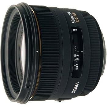 SIGMA 単焦点標準レンズ 50mm F1.4 EX DG HSM ニコン用 フルサイズ対応 310554