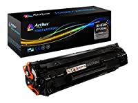 Arthur Imaging Compatible Toner Cartridge Replacement For HP CF283A (HP 83A) (Black 1-Pack) 【Creative Arts】 [並行輸入品]