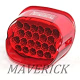 ハーレー テールランプ LEDテールライト  【 レッド 】 WIN-001R ナンバー灯付き HARLEY-DAVIDSON FXD FXDL FLST XL883 XL1200