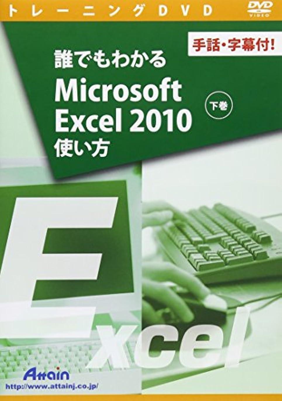 湿った社会学ガロン誰でもわかるMicrosoft Excel 2010使い方 下巻 ~手話?字幕付! ~