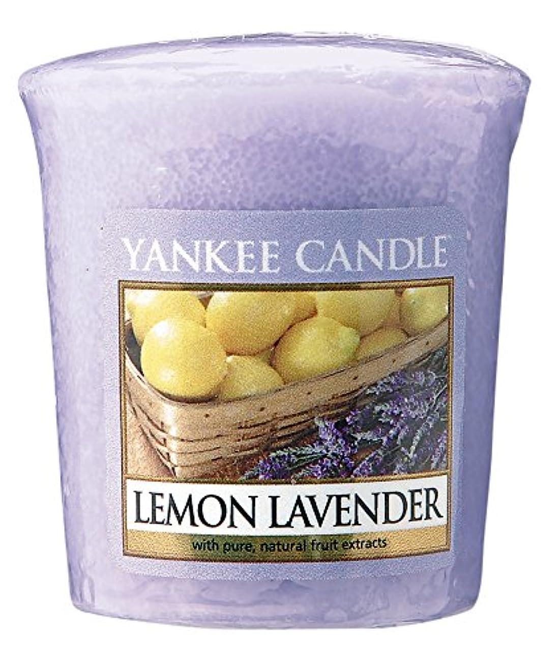 しつけリフレッシュ飾るヤンキーキャンドル サンプラー お試しサイズ レモンラベンダー 燃焼時間約15時間 YANKEECANDLE アメリカ製