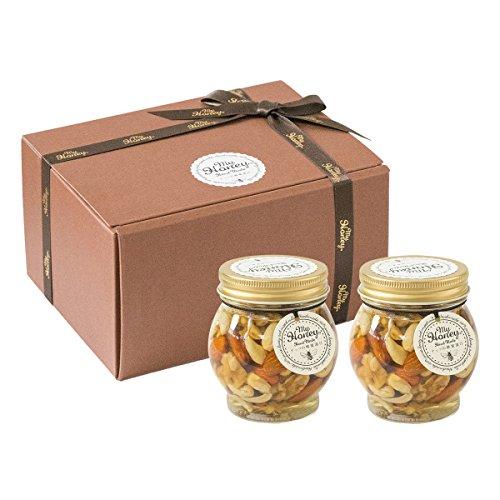 ナッツの蜂蜜漬け 200g (C02:L(200g)×2個・贈答用箱)