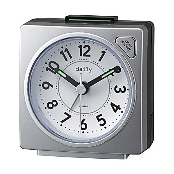 daily(リズム時計) コンパクトでポップなカ...の商品画像