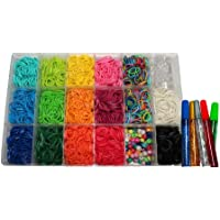 Colorful Loom Bands 600 GREEN Rubber Bands by Colorful Loom Bands [Toy] [並行輸入品]