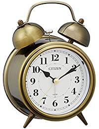 CITIZEN シチズン 目覚まし時計 連続秒針 ツインベルRA06 8RAA06-063